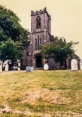 1988.06.18.06 High Bentham St. Margaret (Brunswick Forge) Tags: 1988 church anglican episcopal episcopalian travel england uk yorkshire northyorkshire dioceseofbradford summer spring linda nikkormatftn scan scans film highbentham favorited grouped