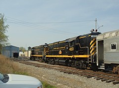 DSC06311R (mistersnoozer) Tags: lal shortline railroad rr rgvrrm excrusion train