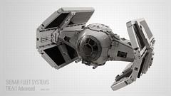 Darth Vader's TIE/x1 Advanced (Jerac) Tags: lego starwars tiefighter tieadvanced darthvader