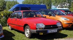 Citroën GSA Spécial (XBXG) Tags: stdlz3 citroën gsa spécial citroëngsa red rood rouge citromobile 2018 citro mobile expo haarlemmermeer stelling vijfhuizen carshow youngtimer old classic french car auto automobile voiture ancienne française vehicle outdoor