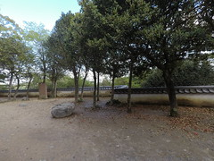 Nino vSE _orig_LG (Hazbones) Tags: iwakuni yamaguchi yokoyama castle kikkawa suo chugoku mori honmaru ninomaru demaru wall armor samurai spear teppo gun matchlock map ropeway