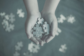 life is a puzzle and we are the pieces