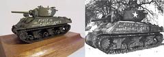 23 Decals (Calum Melrose) Tags: m4a3e2 sherman jumbo 172 calum melrose wee friends black dog okb cobra king bastogne 1944 battle bulge patrick mondria