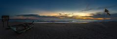 2018.03_Sri Lanka-199-BA (FV1405) Tags: 2018 ahungalla meer srilanka wasser panorama boot blaue stunde