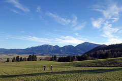 2017-12-31 Schlehdorf, Kochelsee, Kreut-Alm 021 (Allie_Caulfield) Tags: foto photo image picture bild flickr high resolution hires jpg jpeg geotagged geo stockphoto cc sony rx100 2 ii 2017 silvester winter alpen alps bavaria oberbayern schlehdorf kochelsee see lake oberland voralpen viewpoint hike wanderung blue sky