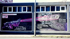 OLDENBURG - Graffiti, Street art at various locations ( street: 'Stau') / 155th picture) (tusuwe.groeber) Tags: projekt project lovelycity graffiti germany lowersaxony oldenburg streetart niedersachsen farbig farben favorit colourful colour sony sonyphotographing nex7 bunt art gebäude building konzept concept wall wand motifs deutschland stau