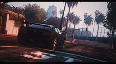 Drive (Biskveet) Tags: gaming gta grand theft auto art screenshot reshade palm road car los santos
