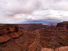 A Long Way Down (Gleb Lapham) Tags: canyonlands canyonlandsnationalpark offroadtrail moab utah nationalpark usnationalpark
