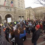 Rally-goers at trump hotel (45 second snippet) thumbnail