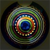 squared circle (blasjaz) Tags: blasjaz keramik ceramic painted macromondays squaredcircle circles