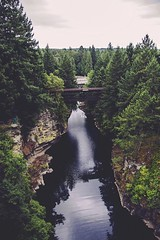 Follow me on Instagram🌸: giulia_cetto (alessandrocetto) Tags: sky bridge sight view amazing landscape nature picture pic photo water river rock wood forest trees