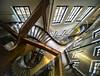 La magia de un reflejo... (carmen.fdez.mtnez) Tags: carmenfernández madrid escaleras fundacióntelefónica reflejos