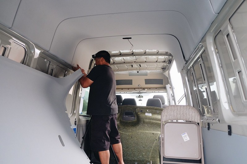 Sprinter Van Build: Day 1.