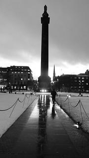 Saint Andrew Square, winter night 01