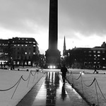 Saint Andrew Square, winter night 01 thumbnail