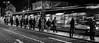 Tramspotting (Henka69) Tags: streetphotography monochrome motion movement tram publictransportation prague praha night