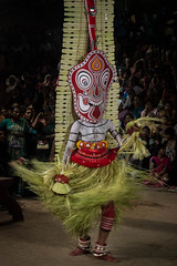 Theyyam, Kannur, Kerala, Inde (Pascale Jaquet & Olivier Noaillon) Tags: religionhindouisme danse theyyam rituel kannur kerala inde ind