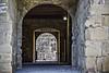 Restos de columna en el patio tras el arco tras el arco (Ignacio M. Jiménez) Tags: arco arch piedra stone castillo castle puerta door ignaciomjiménez sabiote jaen andalucia andalusia españa spain
