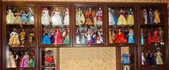 Disney dolls collection (Lindi Dragon) Tags: doll disney disneyprincess disneystore mattel snow white ariel cinderella mulan aurora frozen pocahontas rapunzel moana tiana merida mermaid esmeralda megara anastasia
