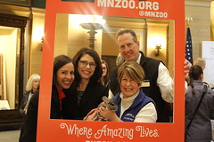 MN Zoo Day at the Capitol