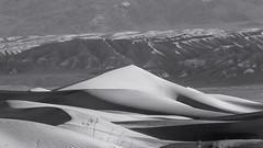 20180316_Death_Valley_001 (petamini_pix) Tags: california deathvalley desert mesquitedunes deathvalleynationalpark dune sanddune sand pattern shadow shape mountains panorama panoramic landscape blackandwhite blackwhite bw monochrome grayscale