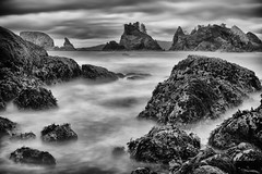 Tempest calmed (D. Inscho) Tags: olympiccoast pointofthearches washington longexposure neutraldensityfilter ocean storm pacificnorthwest backpacking seastack