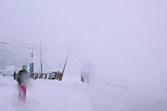 Gulmarg Canvas..... Let it Snow! (pallab seth) Tags: winter landscape kashmir gulmarg travel india nature snowing canvas abstract snowstorm blizzard whiteout snow tourism roadjourney