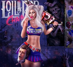 🍭 lollipop chainsaw.🍭 (officialsavannahmohegan) Tags: savannah savannahmohegan mohegan avatar sl secondlife second life bimbo barbie blonde busty cleavage lollipop chainsaw cosplay juliet starling boobs tits breasts cheerleader suck sucking lick licking porn star erotic sexy erotica