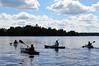 leading the way (pontla) Tags: canoes canoe wisconsin clouds