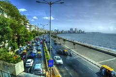 Mumbai Coastline (Aperture Life Photography) Tags: mumbai india coastline ocean view drive driving tour indian beach sand car street side