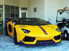 Lamborghini Aventador (Infinity & Beyond Photography) Tags: lamborghini aventador exotic sports car supercar cars exotics supercars miami florida