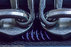 Monster_face_OWIphoto-0970.jpg (OWIP) Tags: moster macro luggage pareidolia zipper face detail texture
