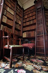 The Old Library (qpegs) Tags: books ladder library reading read old antique felbrig hall norfolk study