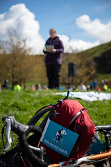 #POP2018  (192 of 230) (Philip Gillespie) Tags: pedal parliament pop pop18 pop2018 scotland edinburgh rally demonstration protest safer cycling canon 5dsr men women man woman kids children boys girls cycles bikes trikes fun feet hands heads swimming water wet urban colour red green yellow blue purple sun sky park clouds rain sunny high visibility wheels spokes police happy waving smiling road street helmets safety splash dogs people crowd group nature outdoors outside banners pool pond lake grass trees talking bike building sport