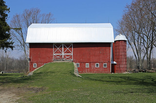 Dobson Barn — Fayette Township, Hillsdale County, Michigan