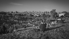 Post-420 In The Park (JBernadez) Tags: sanfrancisco dolorespark saturday afternoon sunset grass lounging relaxing urban gaybeach castrobeach california canon canonef1635mmf28ii 169 blackandwhite landscape city sunshine 5dmkii madeexplore explore salesforcetower