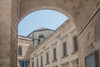 Porta Rudiae or Rusce, Lecce, Salento, Apulia, Italy. (R H Kamen) Tags: apulia italy lecce puglia salento arch architecture baroque builtstructure citygate day outdoors rhkamen