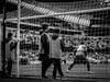 Small Boys Looking in Admiration (bobbex) Tags: mcfc manchestercity mancity manchestercityfc etihad etihadstadium soccer football blackandwhite bw blackwhite sport