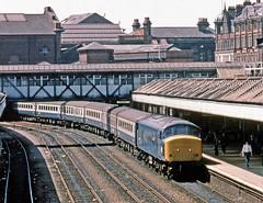 Nottingham Midland (Lost-Albion) Tags: 45143 d62 peak nottingham pentax 1982