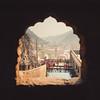 Temple Bathing (*trevor) Tags: asia bathing fujifilm hanuman india jaipur travelphotography xt2 temple view window