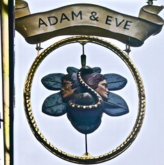 Adam & Eve - Victoria, London SW1. (garstonian11) Tags: pubs london realale greeneking victoria pubsigns