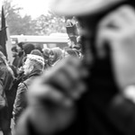 274 of 365: Marching Anti-Fascists Caught Me Off Guard thumbnail