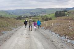 Wales (eddiebotsio) Tags: wales llanidloes aberystwyth walks landscape windmills windfarm trees hills sourceoftheriversevern clouds river seafront pier seagull