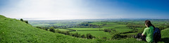Brent Knoll panoramic (PhotooKyle) Tags: panoramic brent knoll hill view burnham sea canon 60d sigma sigma1750