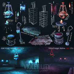 Violetility - Magic Clans Gacha (Violetility) Tags: fantasygachacarnival secondlife sl vio violetility fgc gacha fantasy skybox original mesh