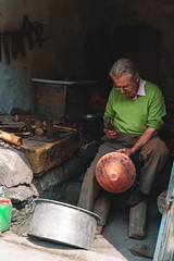 Metal worker, Mardin (sdhaddow) Tags: mardin turkey mesopotamia anatolia weeklyfstopwork