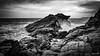 The Edge of Cornwall (row.box) Tags: atlanticocean clouds coast cornwall england englishchannel geology lizardpeninsula manche rough sea seascape splash blackandwhite froth landscape wave