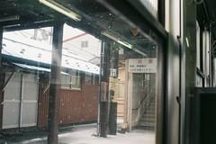 A scene on the platform (しまむー) Tags: pentax mz3 smc fa 43mm f19 limited fuji c200 200 trip tsugaru railway jr 津軽鉄道 津軽線