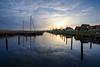 Durgerdam (Julysha) Tags: durgerdam harbour sunset thenetherlands noordholland yacht village evening sky reflection lake d800e acr nikkor142428 2018 spring march