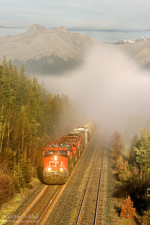 CN 2861 + 2633 + 4647 + 2010, Entrance (Alberta, Canada)